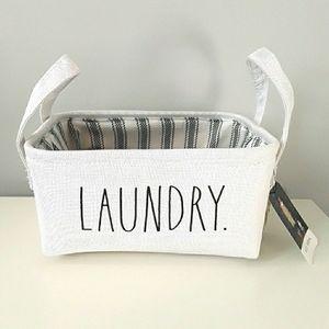 New Rae Dunn Mini Laundry basket